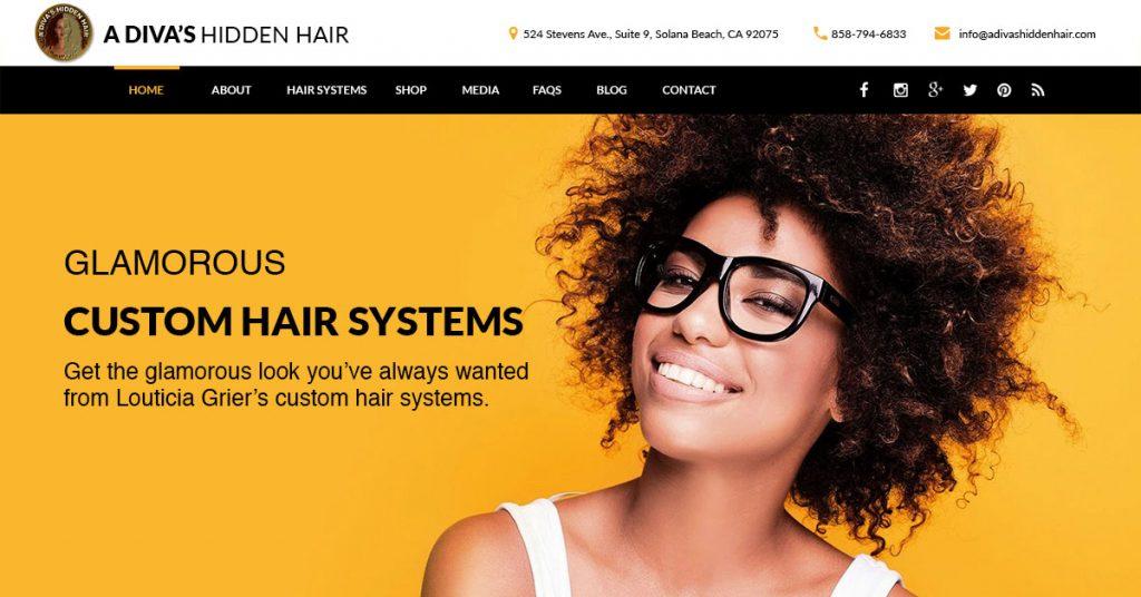 A Diva's Hidden Hair Manufacturing | Solana Beach, CA