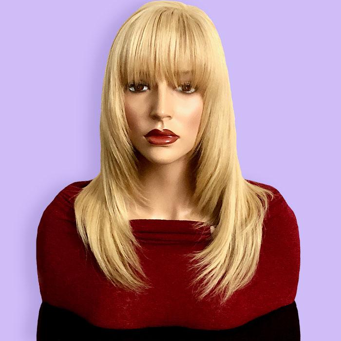 Custom Hair System European Hair Blonde