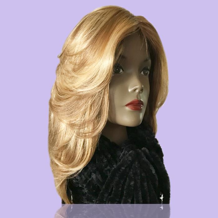 European Custom Blond Hair System