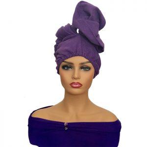 Hair Drying Towel Turban Wrap