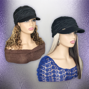 Hats With Hair Attached For Women