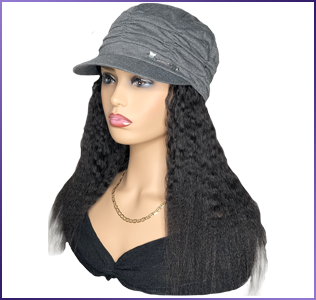 Hats with Hair Attached for Hair Loss