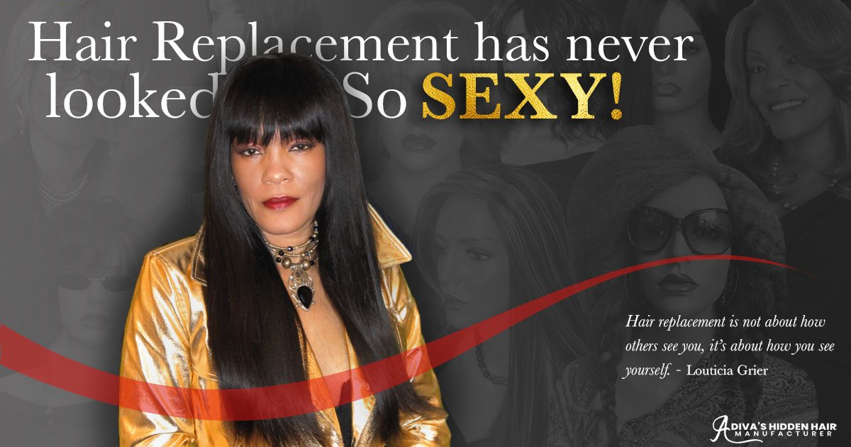 Hair Replacement Has Never Looked So Sexy!